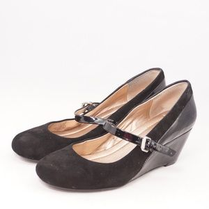 BCBGeneration TAAJ Round Toe Mary Jane Wedges, 7.5